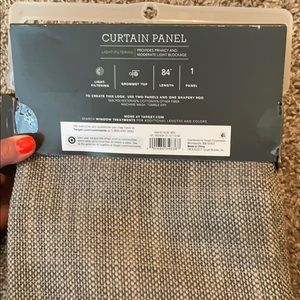 Threshold Accents - Light Filtering Curtain Panel